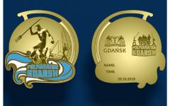 medal półmaraton gdańsk