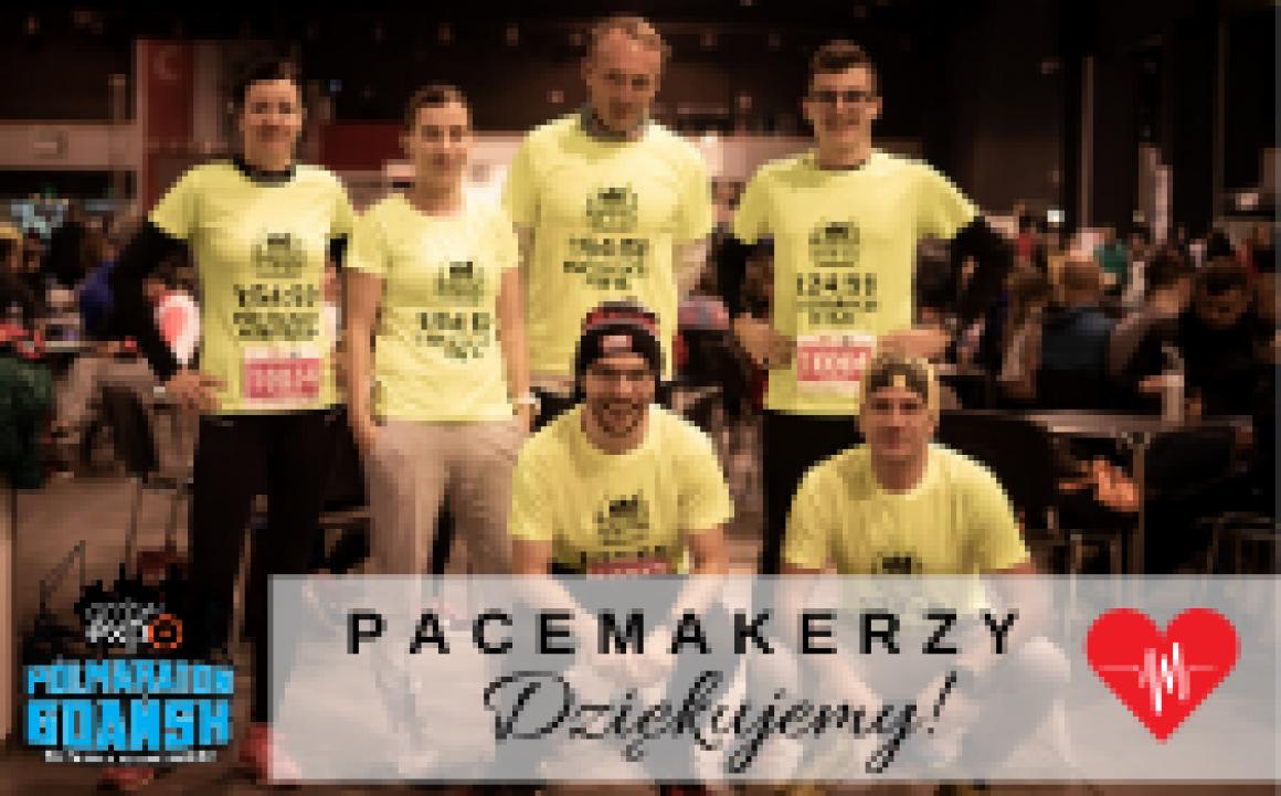 pacemaker amberexpo pólmaraton gdansk im. Pawła Adamowicza