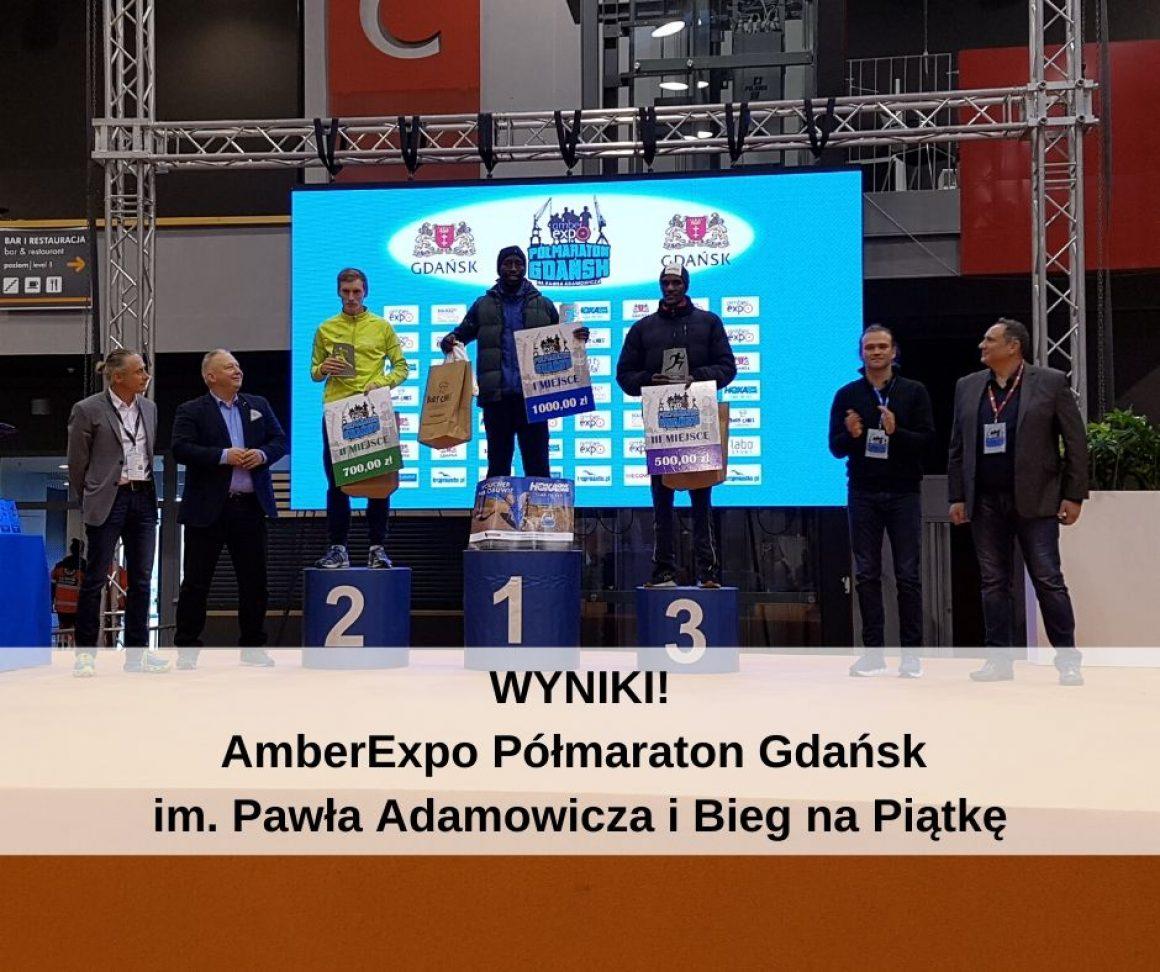 Wyniki z AmberExpo Półmaraton Gdańsk im. Pawła Adamowicza